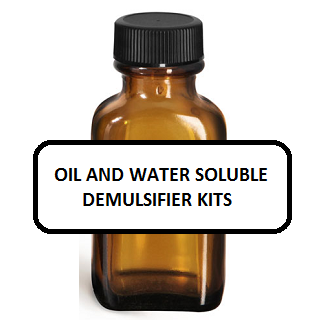 Oil and Water Soluble Demulsifier Kits